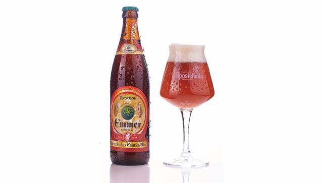 Historisches Emmer-Bier Emmerbier  von Apostelbräu in Hauzenberg