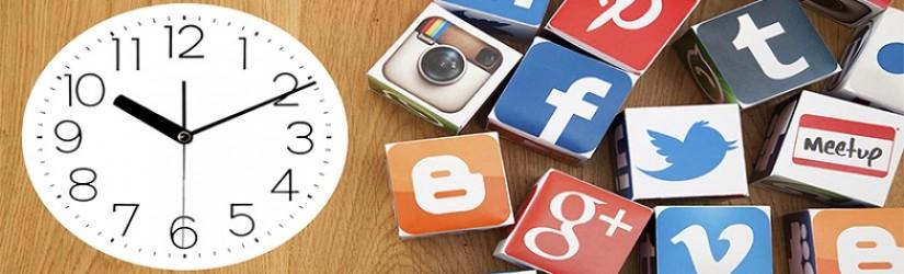 Sosyal Medya da En İdeal Paylaşım Günleri ve Saatleri