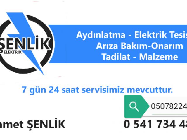 SENLİK ELEKTRİK  HALKALİ