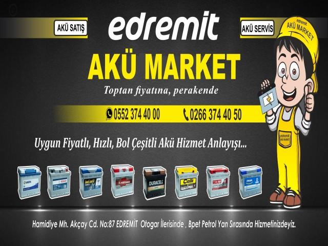 Edremit Akü Market