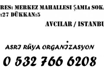 Asrı Rüya Düğün ve Kına Gecesi Organizasyonu