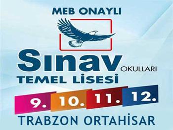 TRABZON SINAV TEMEL LİSESİ