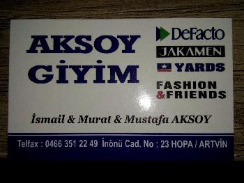 Aksoy Giyim