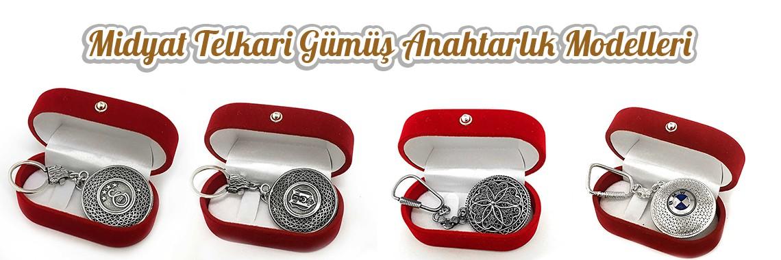 Midyat Gümüş Anahtarlık Modelleri