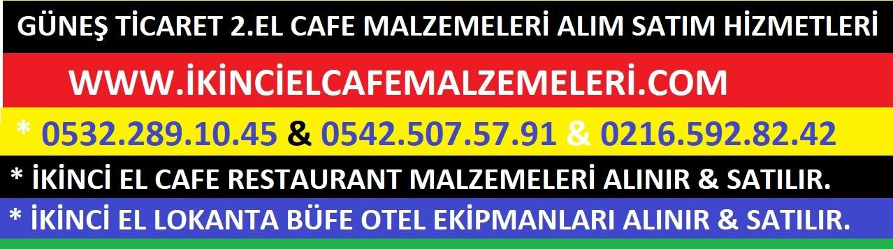2.el Cafe Malzemeleri