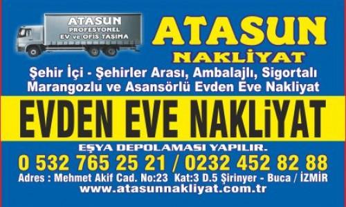 İzmir Atasun Nakliyat İle Ucuz Ev Taşıma