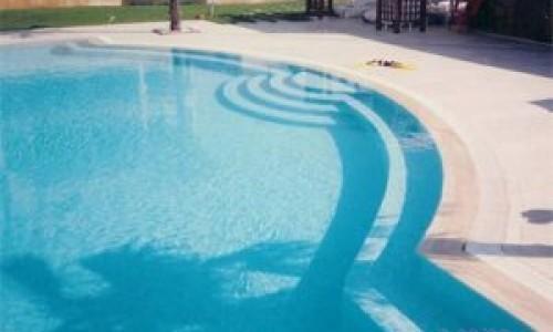 Traverten Havuz Döşeme