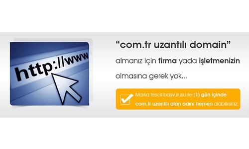 Com.tr için Marka Tescil