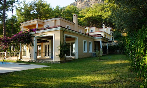 Doğa Manzaralı Villa
