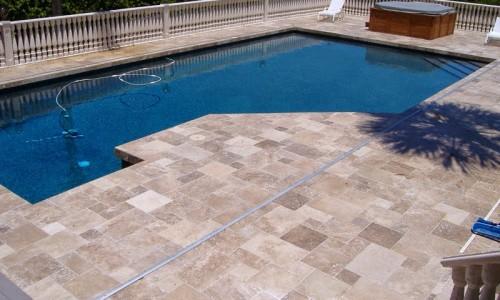 Havuz Taşları - Traverten