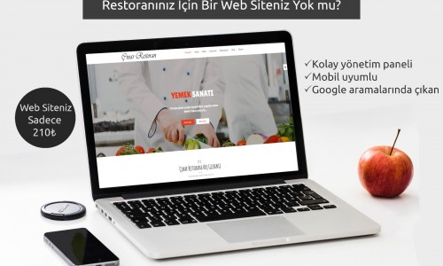 Restaurant İnternet Sitesi