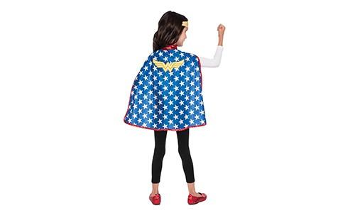 Wonderwoman Pelerin Kostüm Standart Beden