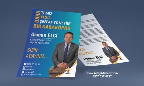 Belediye Başkan Adayları Broşürleri