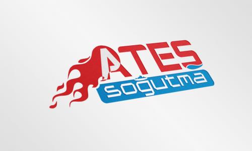 Ateş Soğutma Logo Tasarım