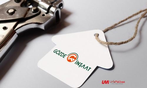 Gözde İnşaat Logo Tasarım | Urfa Logo Tasarım