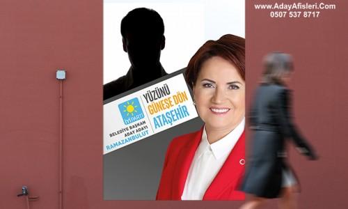 İyi Parti Belediye Başkan Adayları Afişleri