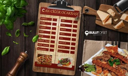 a4  Lokanta Menü