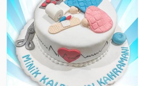 Sağlık Çalışanları Pastası
