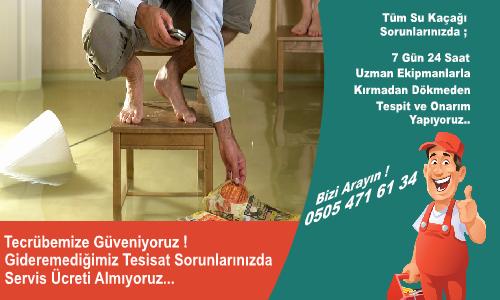 Bağcılar Yeni Kırmadan Cihazla Su Kaçağı Bulma
