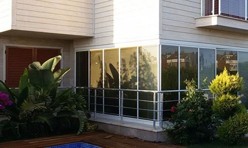Antalya Katlanır Cam Balkon Sistemleri