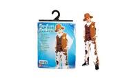 Kovboy Şapkalı Erkek Kostüm