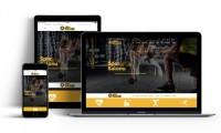 Spor Salonu Body Fitness Scripti