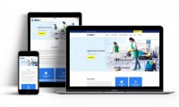 Temizlik Sirket Web Tasarım V2