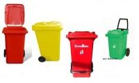 60 lt plastik çöp konteyner