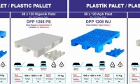 80*120 plastik palet