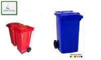 90 lt plastik çöp konteyner