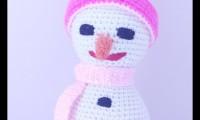 Ami006 kardiş amigurumi organik el örmesi doğal oyuncak bebek