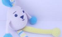 Ami012 yumar amigurumi organik el örmesi doğal oyuncak bebek