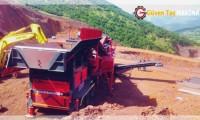 Gtm-150 Mobil Konkasör Tesisi