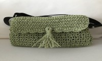 Green Straw Bag