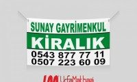 Satılık - Kiralık Branda Afişi | 24,99 tl, Ücretsiz Kargo | SanliurfaMatbaa.com'da