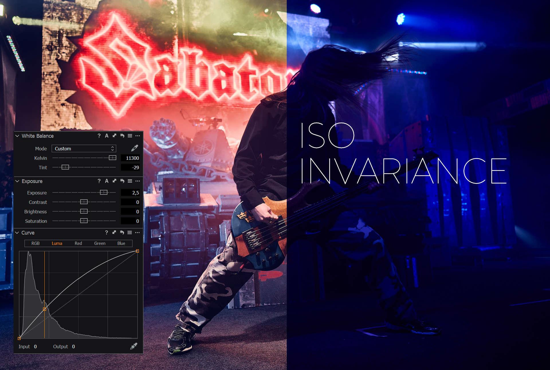 ISO Invariance
