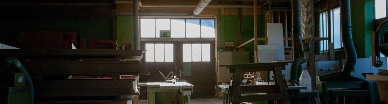 Werkstatt der Schreinerei Rink