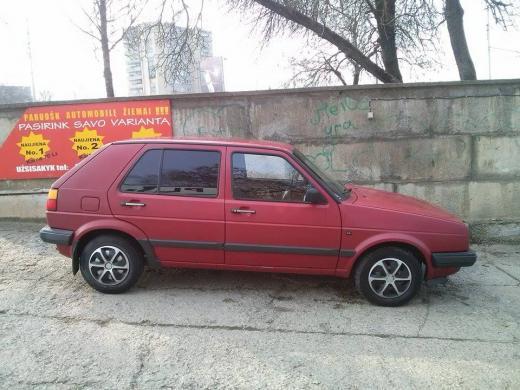 Volkswagen Golf II, 1990m.-6