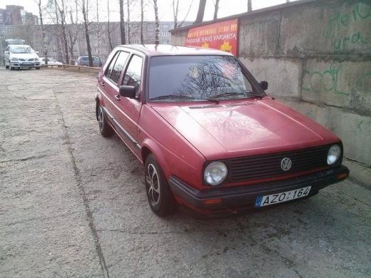 Volkswagen Golf II, 1990m.-7