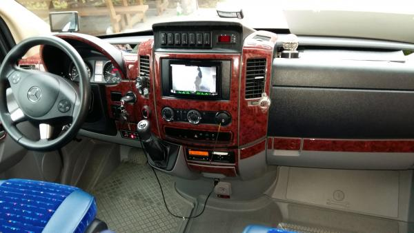 Mikroautobuso  MB 519 -2015m. nuoma-2