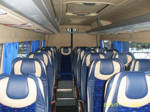Mikroautobuso  MB 519 -2015m. nuoma-3
