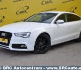 Audi A5, baltas, sedanas-0