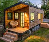 Priekaba, sodo namelis, kemperis, tiny house-0