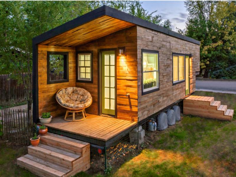 Priekaba, sodo namelis, tiny house, kemperis-0