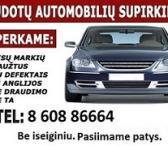 Automobiliu supirkimas 860886664-0