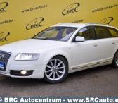 Audi A6 Allroad, baltas, universalas-0
