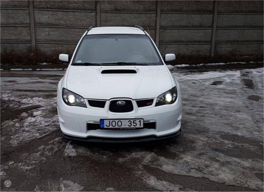 Subaru Impreza WRX, 2.0 l., universalas-0