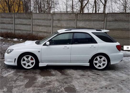 Subaru Impreza WRX, 2.0 l., universalas-2