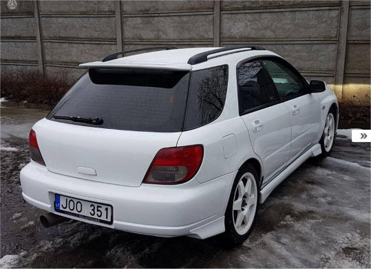Subaru Impreza WRX, 2.0 l., universalas-3