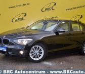 BMW 116, juodas, hečbekas-0